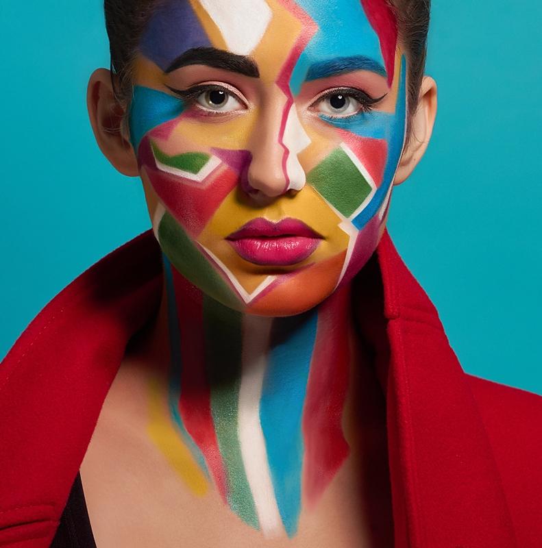 diseño colorido marca de moda ohana webs